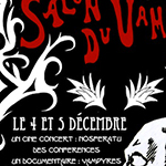 Le salon du vampire : dates, programme et affiche