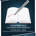 Conférence 1 : Soins post-mortem
