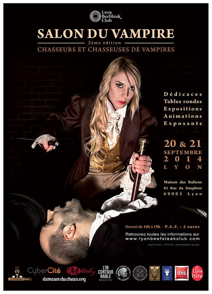 Lyon le salon du vampire 2014 for Salon du chat lyon